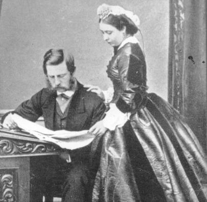 Friedr-III-u-Viktoria-1865-Foto-Fred-III-Victoria-Photo-c-1865